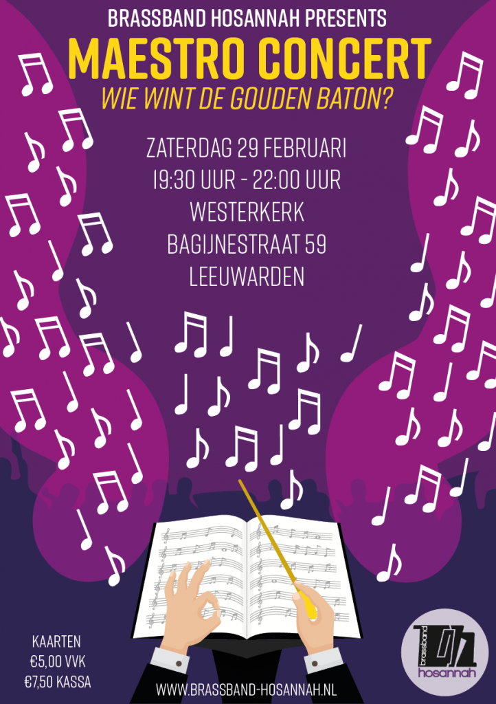 Brassband hosannah presents Maestro concert